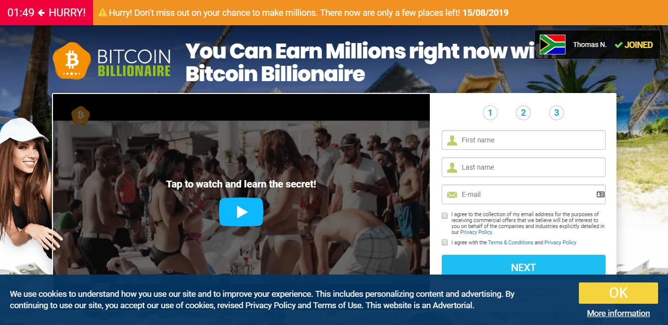 Comment utiliser Bitcoin Billionaire?