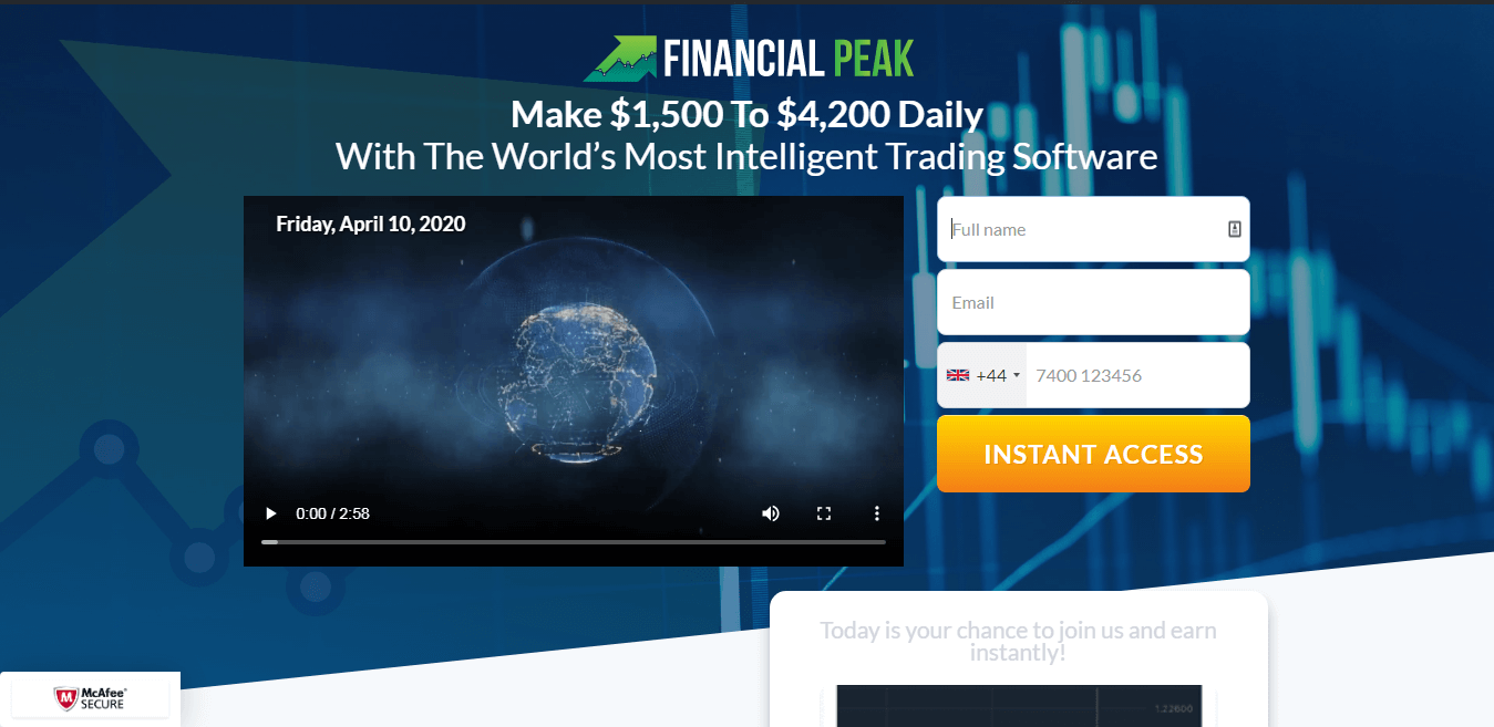 Financial Peak Comment utiliser Financial Peak?