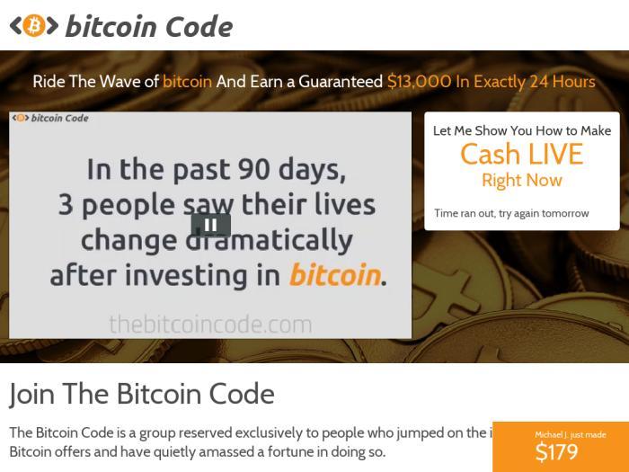 Bitcoin Code Comment utiliser Bitcoin Code?