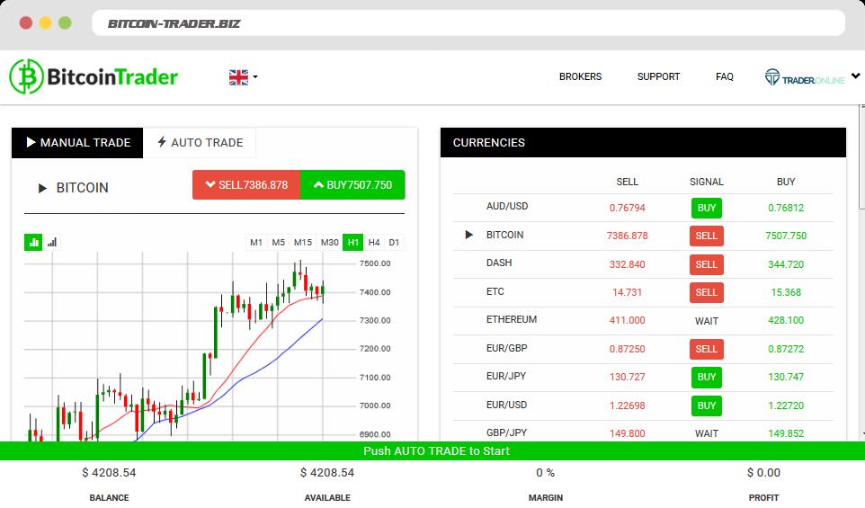 Bitcoin Trader Comment utiliser Bitcoin Trader?