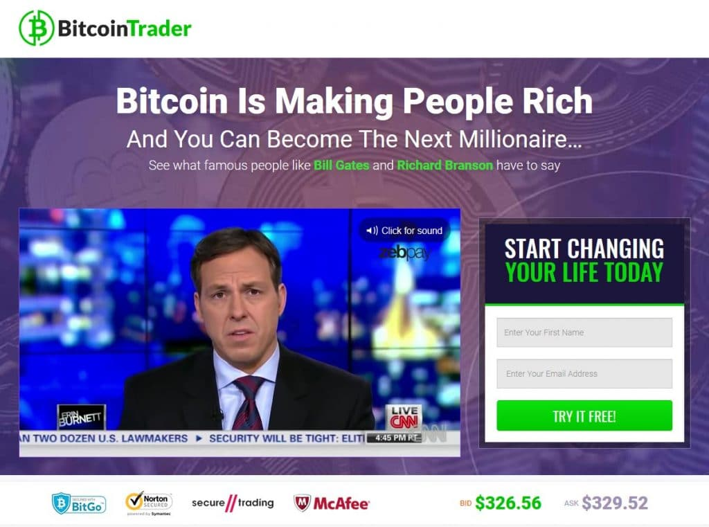 Bitcoin Trader Comment fonctionne Bitcoin Trader?
