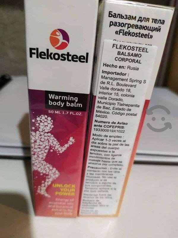 Flekosteel Instruction d'utilisation de la Flekosteel