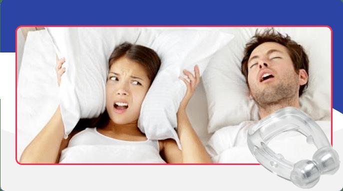 Silent Snore Instruction d'utilisation de la Silent Snore